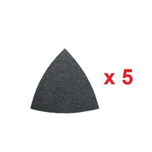 Sandpapper för multislipar Fein; P80; 5 st.