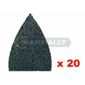 Sandpapper för multislipar Fein; P80; 20 st.