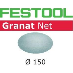 Nätmönstrat slippapper Festool STF 150 mm; P180; GR; 50 st.