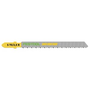 Sticksågsblad Festool; 75 mm; 2,5 mm; 5 st.