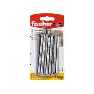 Självgängande skruv  Fischer N; 6x60 mm