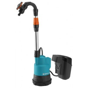 Pump för regnvattenbehållare Gardena 2000/2 P4A; 18 V (utan batteri och laddare)