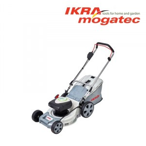 Gräsklippare Ikra Mogatec IAM 40-4325; 40 V; 2x2,5 Ah batt.