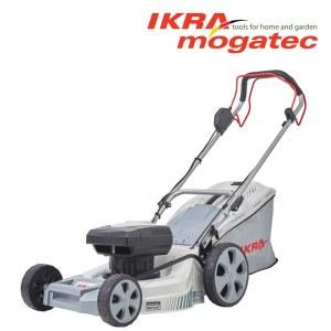 Gräsklippare Ikra Mogatec IAM 40-4625 S; 40 V; 2x2,5 Ah sladdlös; självgående