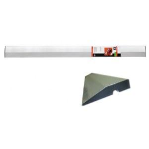 V-formad lutningsmätare för spackling Kapro; 1 m