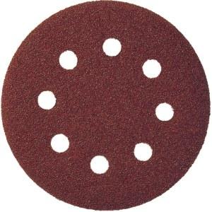 Sandpapper för excenterslipar Klingspor; PS 22 K; GLS 5; 125 mm; K80; 5 st.