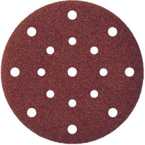 Sandpapper för excenterslipar Klingspor; PS 22 K; 150 mm; K180; 5 st.