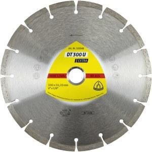 Diamantdisk för torrskärning Klingspor DT 300 U Extra; 230x2,3x22,23 mm