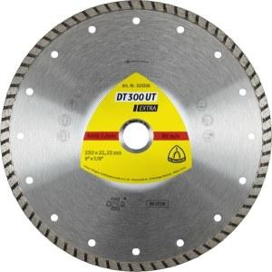 Diamantkapskiva för våtskärning Klingspor DT 300 UT Extra; 230x2,5x22,23 mm