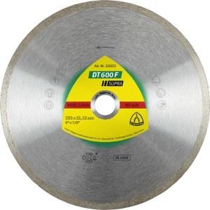 Diamantkapskiva för våtskärning Klingspor DT 600 F Supra; 250x1,9x30,0 mm