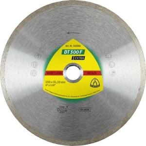 Diamantkapskiva för våtskärning Klingspor DT 300 F Extra; 200x1,9x30,0 mm