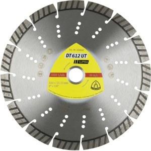 Diamantdisk för torrskärning Klingspor DT 612 UT Supra; 230x2,6x22,23 mm