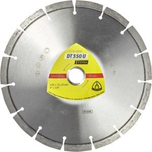 Diamantdisk för torrskärning Klingspor DT 350 U Extra; 180x2,6x22,23 mm