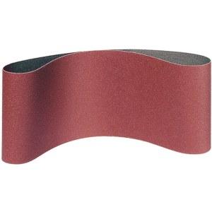 Slipband för bandslipar Klingspor; LS 309 XH; 65x410 mm; K80; 3 st.