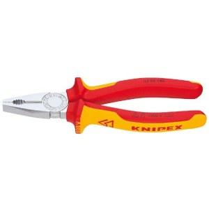 Kombinationstång för elektriker Knipex 0306180; 180 mm