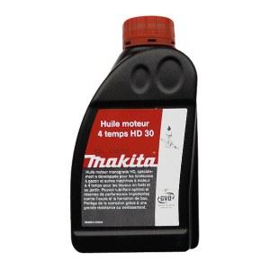Olja Makita 4T; 0,6 l För trädgårdsmaskiner med fyrtaktsmotorer