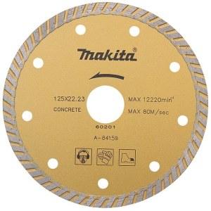 Diamantsågskiva för torr- och våtkapning Makita Turbo; 230 mm; för betong, granit