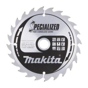 Sågklinga för trä Makita; 165x1,5x20,0 mm; Z24; 20°