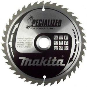 Sågklinga för trä Makita; 165x1,6x20,0 mm; Z40; 18°