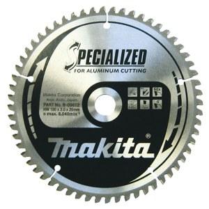 Sågklinga för aluminium Makita; 190x2x20,0 mm; Z60; -5°