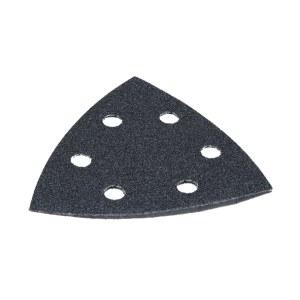 Sandpapper för multislipar 93x93 mm; P120/240/400/600/1200; 10 st.