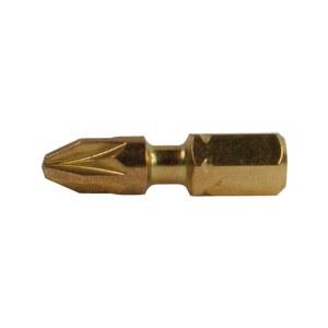 Bits spår Impact Gold Torsion; PZ; 2 st.