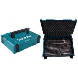 17-delar borrsats Makita B-52059, SDS-Plus