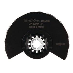 Halvrund segmentsågklinga Makita TMA046; Ø100 mm