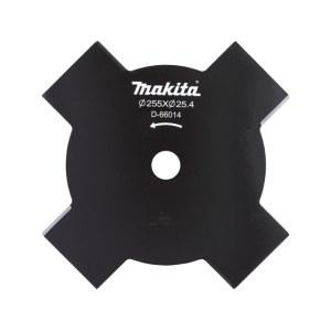 4-skärigt trimmerskär Makita; 255x25,4 mm; Z4