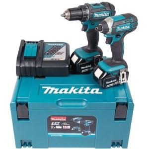Verktygspaket Makita DLX2127MJ (DDF482+DTD152); 18 V; 2x4,0 Ah batt.