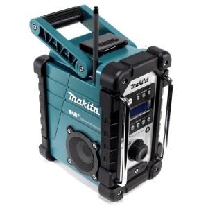 Radio Makita DMR110 DAB+; 7,2-18 V (utan batteri och laddare)