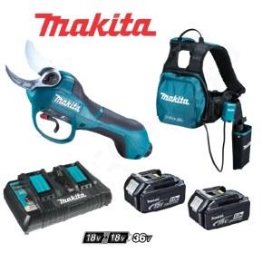 Sekatör Makita DUP361PT2; 36 V; 2x5,0 Ah batt.