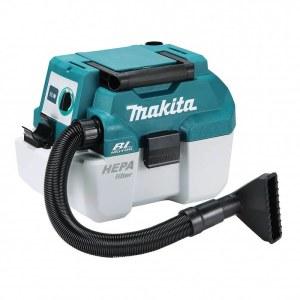 Dammsugare Makita DVC750LZ; 18 V; HEPA (utan batteri och laddare)