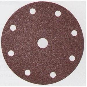 Sandpapper Velcro Backed 150 mm; K80; 10 st.