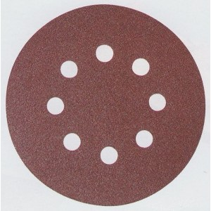 Sandpapper Velcro Backed 125 mm; K100; 10 st.