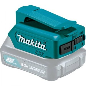 Batteriadapter Makita 12V -> USB;tinka krauti telefono baterijoms