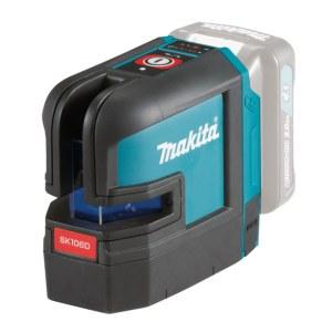 Korslinjelaser Makita SK106DZ; 10,8 V (utan batteri och laddare)