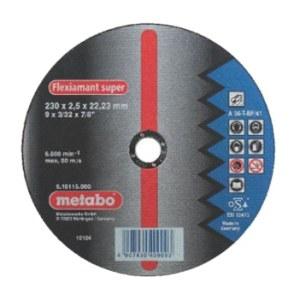 Kapskiva Metabo; 230x2,5 mm för metall