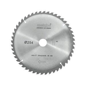 Sågklinga för trä Metabo Classic;  Ø254 mm