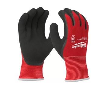 Handskar Milwaukee Winter Cut Level 1; XXL; 12 st.