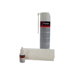 Rengöringsmedel för tryckluftsdrivna verktyg Paslode; 300 ml + tillbehör