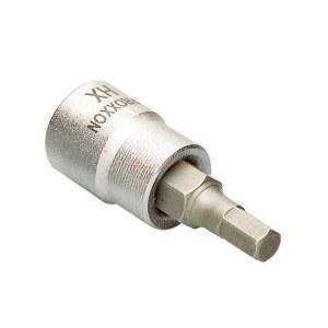 Hylsa med spindel Proxxon 23580; 1/4''; HX 8 mm; 50 mm