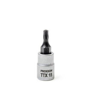 Hylsa med spindel Proxxon 23756; 1/4''; TTX 15
