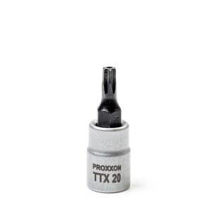 Hylsa med spindel Proxxon 23758; 1/4''; TTX 20