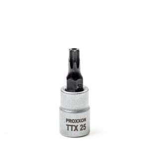 Hylsa med spindel Proxxon 23760; 1/4''; TTX 25