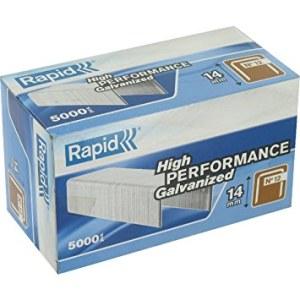 Häftklammer  Rapid; 12,95x14 mm; 5000 st.; typ 12