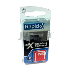 Häftklammer  Rapid; 1080 st.; Typ 53/8; rostfritt stål