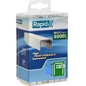 Häftklammer  Rapid; 10,6x6 mm; 5000 st.; typ 140