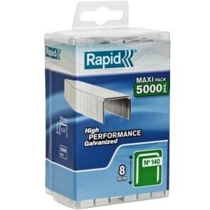 Häftklammer  Rapid; 10,6x8 mm; 5000 st.; typ 140