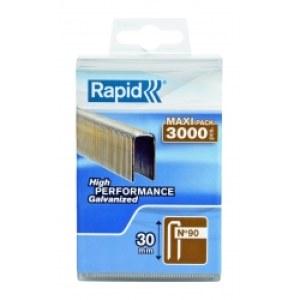 Häftklammer Rapid, typ 90 5,7x20 mm; 3000 st.